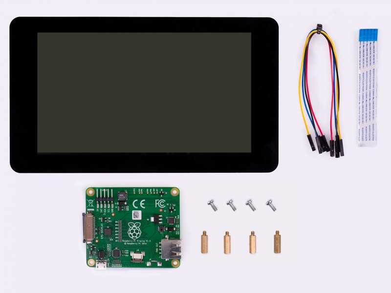 Using a Raspberry Pi display for digital signage