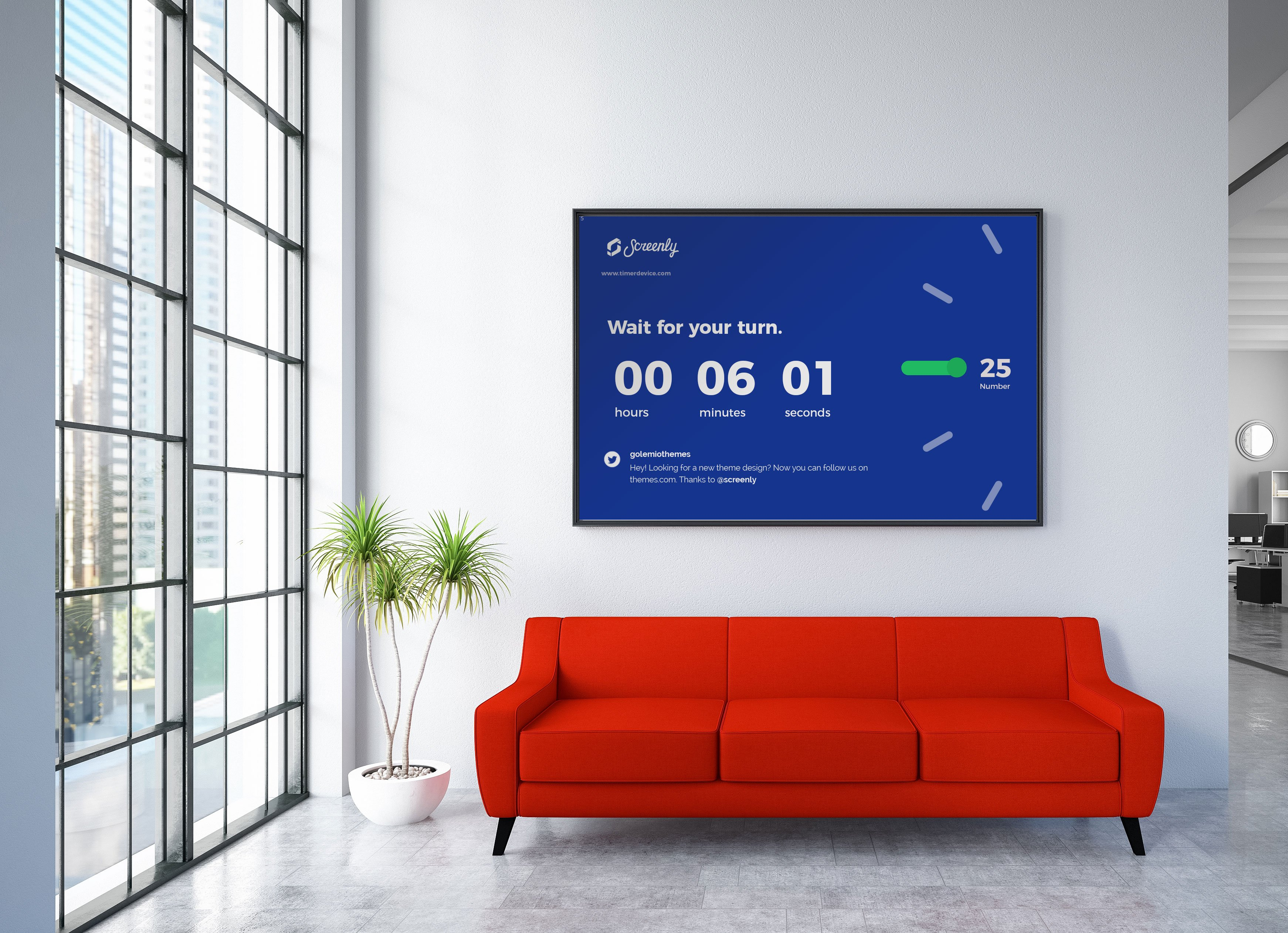 Hotels, office buildings, and residential buildings can use digital lobby signage to engage with lobby visitors. Learn how to launch digital lobby signage with Screenly.