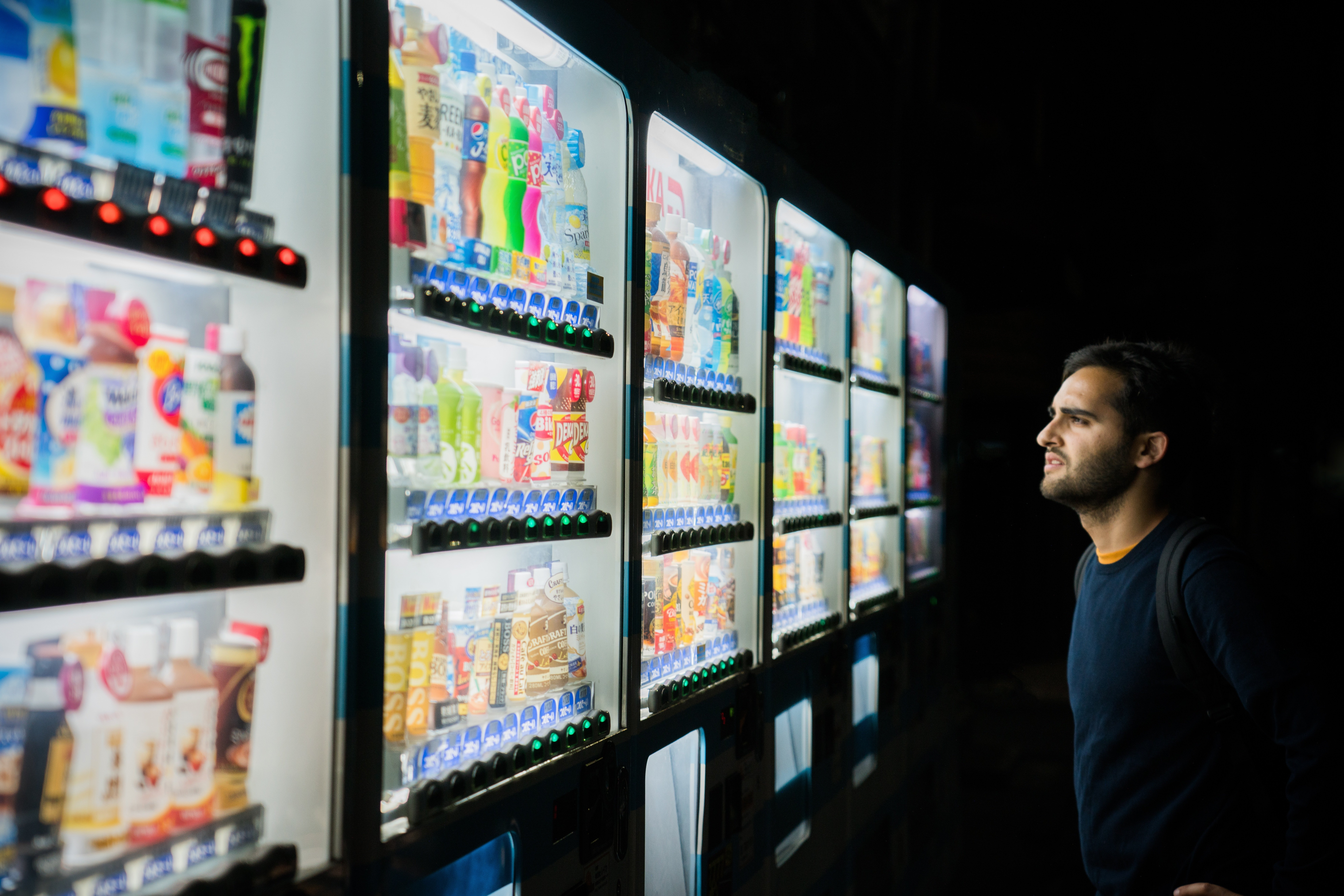 Screenly is at the forefront of new vending machine technology. Read more below on how you can use digital signage with your vending machines.